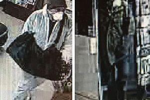 CCTV images of the attempted robbery of Stone Quarry Post Office, East Grinstead, 30 November 2018 SUS-180712-090454001