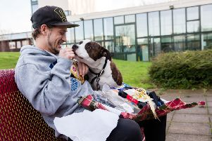 For many experiencing housing crisis, their dog is their only friend