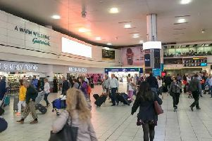 Passengers faced flight cancellations due to ongoing drone activity around the airfield