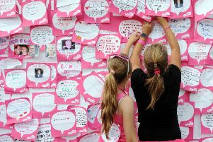 People across Sussex are being urged to take part in a Race for Life event. Photograph by Danny Fitzpatrick