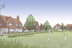 Plans for 69 new homes in Newick