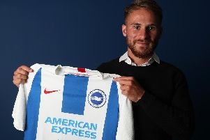 Alexis Mac Allister. Picture by BHAFC/Paul Hazlewood
