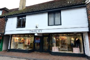 Darcey boutique, on Cliffe High Street. Photograph: Peter Cripps