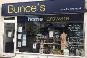 Bunces Home Hardware in Portland Road, Worthing