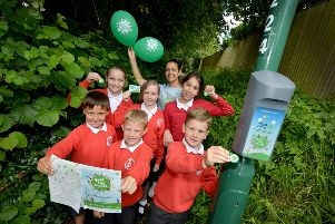 Beat the Street ran across East Sussex for two years. Pictured are pupils from Battle and Langton Primary School