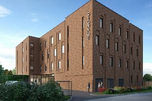 Tekton Student Living's proposed new student accommodation building at Station Approach, Falmer