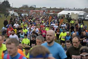 Eastbourne Half Marathon. Photo by Jon Rigby SUS-180503-072553001