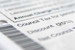 A council tax bill pa/POLITICS Councils 06585592.JP