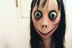 The 'Momo' figure in the online challenge which has resurfaced recently