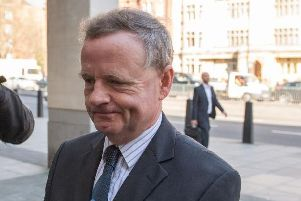 Pilot Andy Hill arriving at court. Picture: Getty Images