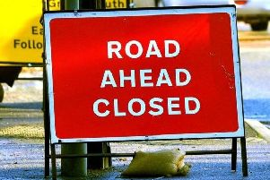 The route will be closed 24 hours a day