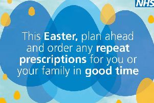 The NHS is urging those on medication to plan ahead for Easter