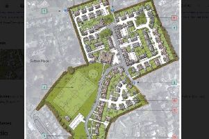 Layout of the proposed development