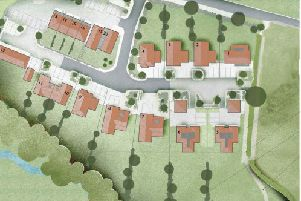 Indicative layout of the new scheme