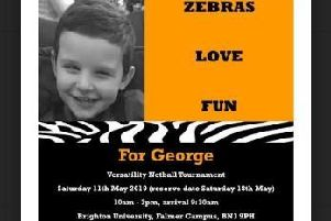 More than 100 women will be taking part for George Pullen, aged four