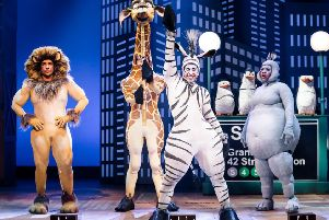 Madagascar the Musical. Picture by Scott Rylander