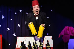 Just Like That! The Tommy Cooper Show. Picture by Steve Ullathorne