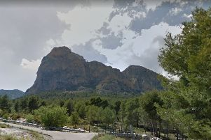 Ian Brown died after falling 98ft from Mount Ponoig, Spain. (Image by Google)