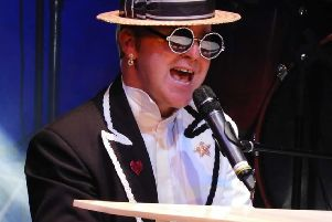 Jimmy Love and his band perform the hits of Sir Elton John this weekend