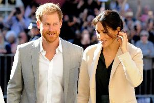 Prince Harry and Meghan visited Chichester in October