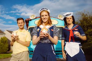 A Stranger Things 3 inspired ice cream van is coming to Hailsham SUS-190907-114407001
