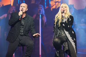 Steve Steinman and Lorraine Crosby