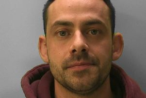 Luke Berry has been sentenced to 10 years for stabbing his partner in the neck at his home in Blackboys