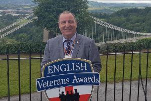 Martin Diver has been recognised for his work