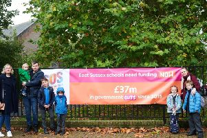 Five Lewes schools are joining others nationwide to demand a real increase in funding