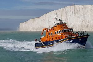 Newhaven lifeboat. Photograph: RNLI