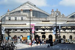 Brighton station is one of the drop-off points