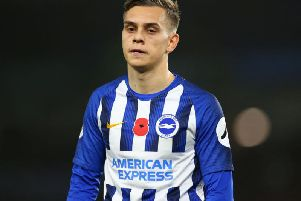 Leandro Trossard has been ruled out of Belgium's next two matches and is a doubt for Brighton's next Premier League match against Leicester City