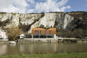 The Riverside House, South Street, Lewes, winner of the Residential category at South Downs National Park's first Design Awards