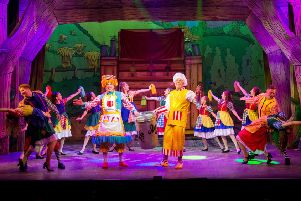 Martyn Knight and Tucker star in Jack & the Beanstalk in Eastbourne
