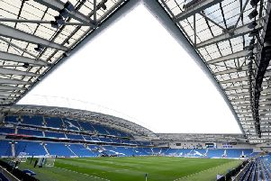 A general view of the Amex Stadium ahead of the Premier League match between Brighton and Hove Albion and Everton at Amex Stadium on October 15, 2017 in Brighton, England. (Photo by Dan Istitene/Getty Images)