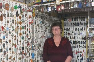 Lorraine said she has been collecting the keyrings for 48 years in total
