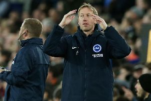 Brighton and Hove Albion manager Graham Potter