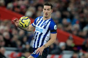 Brighton and Hove Albion captain Lewis Dunk