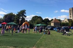 Thame Town Cricket Club's 2015 open day