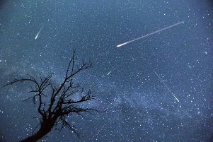Look out for stunning meteor showers this month