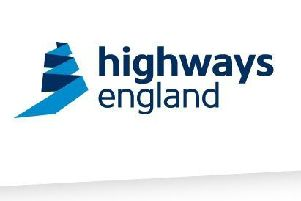 Highways England logo. NNL-170928-140456001