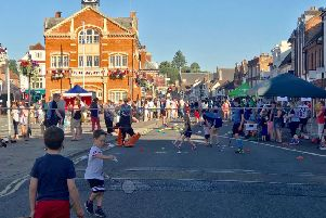 Sport in the Street in Thame