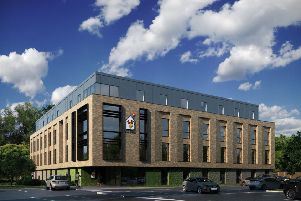 Artist's impression of Ronald McDonald House, Oxford