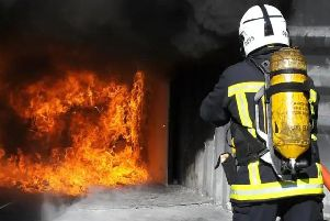 A road traffic collision extraction and hot fat fire demos will be hard-hitting viewing