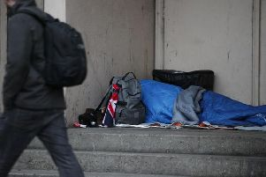 The numbers of rough sleepers are revealed