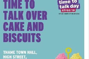 Time to Talk Thame - Thursday is a day dedicated to raising awareness of mental health