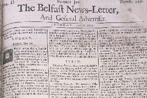 The News Letter of July 10 1739 (July 21 modern date)