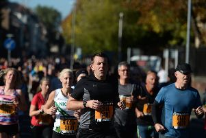 Great South Run. Photograph by Mary Turner for the Great Run Company