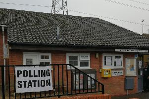 The Haydon Community Centre polling station