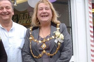 Cllr Patricia Russell during her tenure as Mayor of Dunstable
